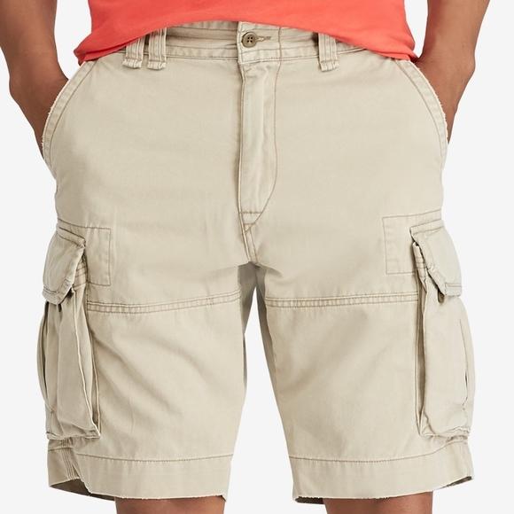 b4e05b62c Polo Ralph Lauren Men classic Cargo Gellar Shorts